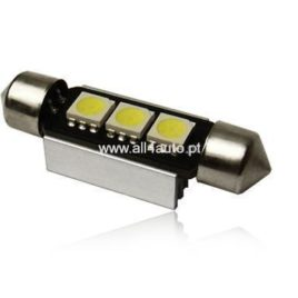 LED 3 SMD 40mm Tubular CanBus