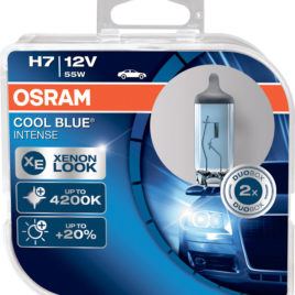 OSRAM COOL BLUE INTENSE 4200K H7 DUO 64210CBI-HCB