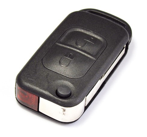 Mercedes-Benz-A-C-E-S-2-Button-Remote-Infra-Red-Key-FOB-Shell-Case