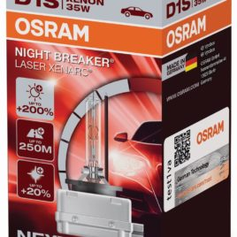 Osram Night Breaker Laser +200% Luz 66140XNL