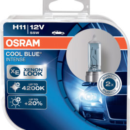OSRAM Cool Blue Intense 4200k H11 DUO – 55W Halogéneo