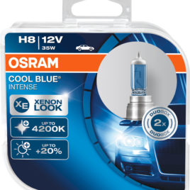 OSRAM Cool Blue Intense 4200k H8 DUO – 35W Halogéneo