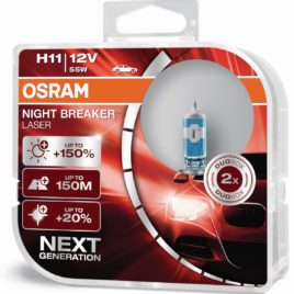 Osram Night Breaker Laser Next Generation + 150% Pack DUO 64211NL-HCB